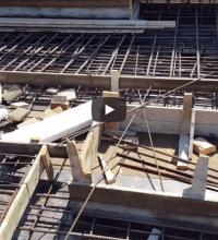 הכנות ליציקת גג חלק שלישי
