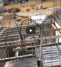 הכנות ליציקת גג – חלק 1