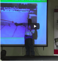 הרצאה על איטום בית בפרטי כנס 2015