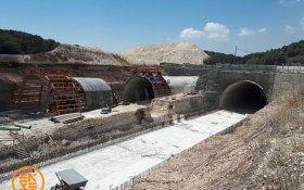 א.צ. פרויקט מנהרת רכסים כביש 6